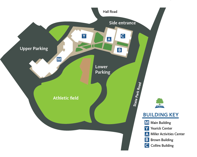HP Campus Map
